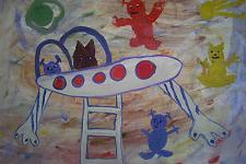 Автор: Бачина Алия   Космическая одиссея