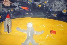 Автор: Краснова Маша   Космическая одиссея