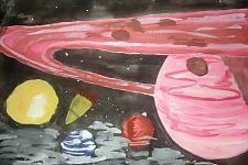 Автор: Чубакова Катя   Космическая одиссея