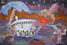 Автор: Абдуллаев Матин   Космическая одиссея