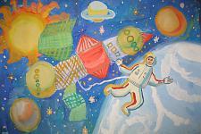 Автор: Десятчикова Екатерина   Космическая одиссея