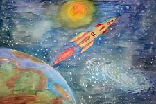 Автор: Полудненко Катя   Космическая одиссея