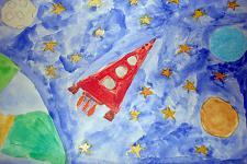 Автор: Садриева Аделя   Космическая одиссея