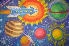 Автор: Насир Фарида   Космическая одиссея