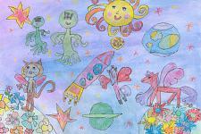Автор: Насонова Алиса   Космическая одиссея