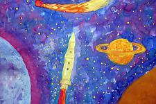 Автор: Кисина Лиза   Космическая одиссея