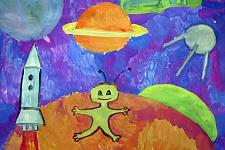 Автор: Климкина Настя   Космическая одиссея