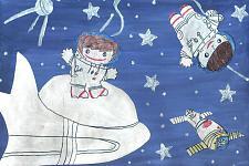 Автор: карнафель Полина   Космическая одиссея