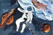 Автор: Корюкова Женя   Космическая одиссея