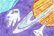Автор: Лавелина Света   Космическая одиссея