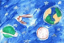Автор: Соловьева Полина   Космическая одиссея