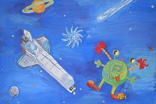 Автор: Гештарёва Лия   Космическая одиссея