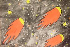Автор: Соколов Исмаил (ребёнок -инвалид по слуху)   Космическая одиссея