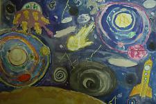 Автор: Вострикова Полина   Космическая одиссея