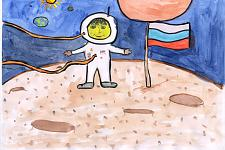 Автор: Капустина Софья   Космическая одиссея