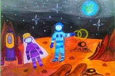 Автор: Черницова Антонина   Космическая одиссея