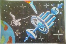 Автор: Гочаль Валентина   Космическая одиссея
