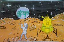 Автор: Кукушкина Оля   Космическая одиссея