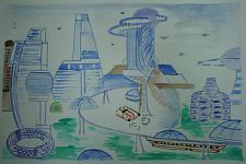 Автор: Хромова Таисия   Космическая одиссея