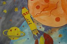 Автор: Скомарохова Маша   Космическая одиссея