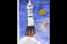Автор: Сиядинова Венера   Космическая одиссея