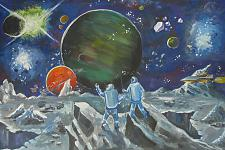 Автор: Красильников Артём   Космическая одиссея