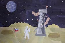 Автор: Ананьева Даша   Космическая одиссея