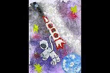 Автор: Толстенкова Евгения   Космическая одиссея