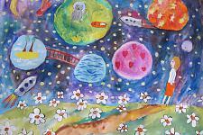 Автор: Меркулова Света   Космическая одиссея