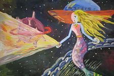 Автор: Гарифуллина Гульназ   Космическая одиссея