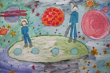 Автор: Алехина Лада   Космическая одиссея