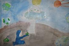 Автор: Мелекова Камилла   Космическая одиссея
