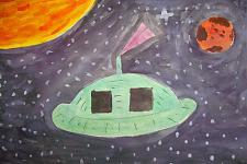 Автор: Вихевская Юля   Космическая одиссея