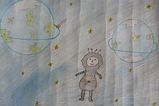 Автор: Косманёва Анастасия   Космическая одиссея