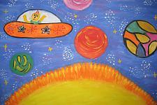 Автор: Ломонос Оксана   Космическая одиссея