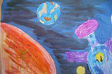 Автор: Зеленкина Таня   Космическая одиссея