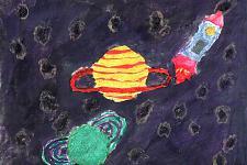 Автор: Запрудина Даша   Космическая одиссея