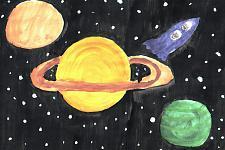 Автор: Колесина Катя   Космическая одиссея