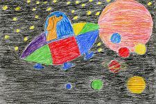 Автор: Молодкина Вероника   Космическая одиссея