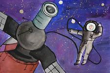 Автор: Галавур Евгения   Космическая одиссея