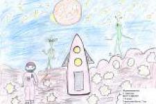 Автор: Терентьева Настя   Космическая одиссея