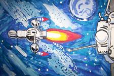 Автор: Силиванов вадим   Космическая одиссея