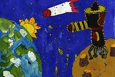 Автор: Рычкова Камила   Космическая одиссея