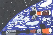 Автор: Иванов Виктор   Космическая одиссея