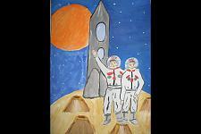 Автор: Мочалов Никита   Космическая одиссея