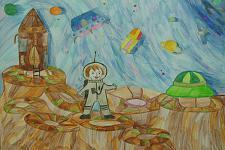 Автор: Мамаева Елизавета   Космическая одиссея