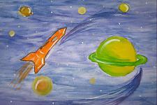 Автор: Важнина Настя   Космическая одиссея