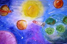 Автор: Небогина Ксения   Космическая одиссея