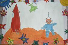 Автор: коллектив 5 группы   Космическая одиссея