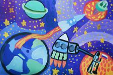 Автор: Сабирзянова Алина   Космическая одиссея